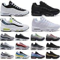 Wholesale retro running for sale - Group buy 2020 Men OG Cushion Navy Chaussure Triple s Neon Denham Women air running Retro Logo max Shoes White Black Vapourmax Grey Volt Pack nik