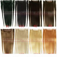 Wholesale zzhair for sale - Group buy ZZHAIR quot quot Brazilian Remy Human hair Clips in on Human Hair Extension set g g g g g g
