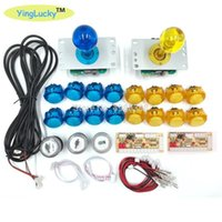 Wholesale buttons for arcade for sale - Group buy yinglucky Zero Delay Arcade joysticks DIY Kit USB Encoder To PC Arcade Sanwa Joystick Sanwa Push Buttons For Mame