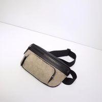 2020 Hot sold fashion Genuine leather Top quality men waist bag change men fannypack Pocket bag Classic letters crossbody bag Free Shipin