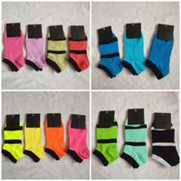 10 Pairs Women Socks Fashion black pink Ankle Short Sock Sports Cheerleaders Ankle Socks Cotton