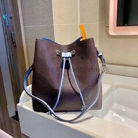 20SS Luxury Designer Néonoé Women Fashion Bags Classic Letter Drawstring Bucket Causcal String Lady Handbags Shoulder Bags Floral bag