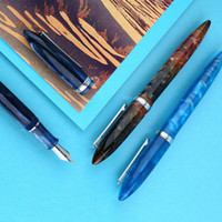 New Penbbs 480 Fountain Pen Converter Pen Fine Nib 0.5mm Writing Student School Office Ink pens stationery supplies Student Gift Y200709