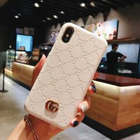 Wholesale 2021 Designer Case for Iphone Pro Max Mini Xs X XR Plus Fashion Embossed Letter G Hard Back Phone Cover