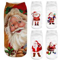 Wholesale chrismas socks for sale - Group buy Socks D Christmas Santa Elk Printing Medium Sports Socks Adult Children chrismas gift chrismas decoration for tree Casual
