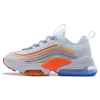 Wholesale great cushions resale online - Great Value ZM950 Designer air cushion Men Women Running Shoes Triple White Colorful Black Breathable Sport Trainers Sneakers