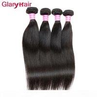 Wholesale days human hair resale online - Malaysian Virgin Hair Straight Human Hair Extensions Glary Hair Products day No reason Return Bundles Fast Shipping
