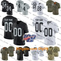 Wholesale raider jerseys resale online - Custom Mens Women Kids Oakland Raiders NFL Football Jerseys Josh Jacobs Charles Woodson Derek Carr Jackson Renfrow Long