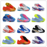 Wholesale cheapest shoes men for sale - Group buy 2021 Men Superfly VII Elite SE FG Comfortable Mens FG Cleats Cheapest Soccer Shoes Assassin s th Waterproof FG Nail Knitted Sports Shoes