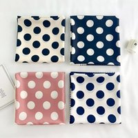 Wholesale literary scarves for sale - Group buy New fashion scarf for ladies dots printing scarf shawl fresh literary women fashion trend decorative square