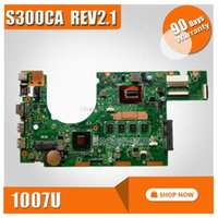 Wholesale S300CA For Asus Laptop motherboard S300CA mainboard REV2 with cpu onboard tested