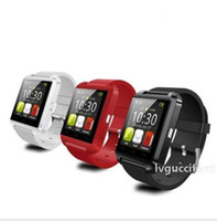 Wholesale smartphones 4s for sale – best Bluetooth Smart Watch U8 Watch Wrist Smartwatch for iPhone S S Samsung S4 S5 Note Note HTC Android Phone Smartphones Fashion