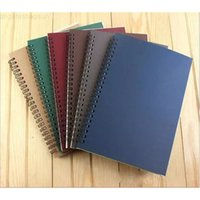 Wholesale free notebook spirals resale online - new school spiral notebook Erasable Reusable Wirebound Diary book A5 paper Subject College Ruled DHL Free