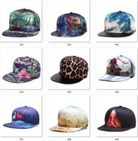 Wholesale mens caps styles resale online - Hot Dad Hats D Printing Styles Basketball Baseball Hat Snapbacks Sport Hats Womens Mens Hip Hop Caps for Christmas DDE3235