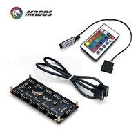 Wholesale motherboard fans for sale - Group buy RGB Hub Interface V PIN V Pin Splitter HUB For Power Supply Port SATA ASUS AURA SYNC Cable Motherboard Fan