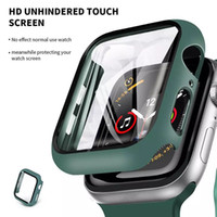 Protective Case for Apple Watch iWatch Series 6 5 4 3 2 1 with Tempered Glass Shockproof Cover
