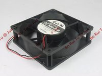Wholesale sanyo 24v fan resale online - SANYO R1224H120 DC V A wire pin connector mm x120x38mm Server Square fan