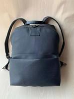 Wholesale back pack men resale online - Leather High Quality Black Flower men women s Backpack famous Backpack Designer lady backpacks Bags Women Men back pack