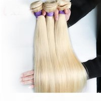 Wholesale bd hair for sale - Group buy BD Company Malaysian Straight Hair Human Hair Extensions To Inch Non Remy Hair Weaving Blonde Bundles