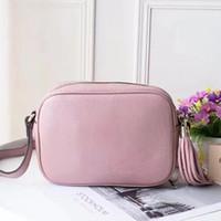 Wholesale Genuine Leather Handbag Camera Bag Tasse Women Purse Fashion Shoulder Bag Cowhide Presbyopic Purse Evening Bag Messenger Women
