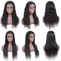 Brazilian Straight Human Hair with 4X4 Closure 10-28 Inches Unprocessed Natural Color Water Wave Lace Front Pre Plucked For Women