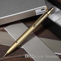 Free shipping Metal Gold Ball Pen Set School Office Supplies Ballpoint Pen Stationery Roller Ball Signature Pen Serious Ballpoint pens