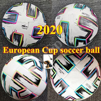 Top quality European Cup size: 4 Soccer ball 2021 Final KYIV PU size 5 balls granules slip-resistant football high