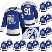 2020-21 Reverse Retro Steven Stamkos Jersey Tampa Bay Lightning 2020 Champions Johnson Point Palat Kucherov Hedman McDonagh Vasilevskiy