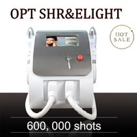 2 IN 1 Shr super laser hair removal beauty machine salon elight rf skin rejuvenation with 7 filters