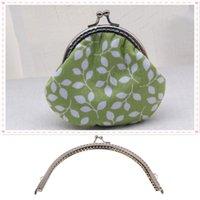 Retro Alloy Metal Flower Purse Bag DIY Craft Frame Kiss Clasp Lock Silver S/&K