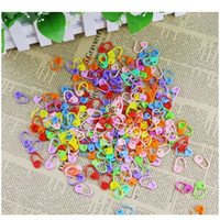 Wholesale knit marker resale online - Plastic Knitting Tools Locking Stitch Marker Needle Clip Hook Crochet Latch Knitting Tools Needle Clip Hook Sewing Tools H sqcgFx