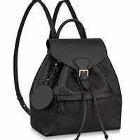 Wholesale shool backpack resale online - Fashion Unisex Genuine Leather Backpack Original Backpacks Students Shool Bag Bookbag Detachable Shoulder Strap Old Flower Duffel Bag