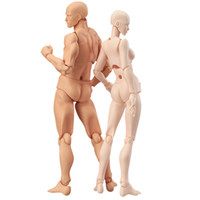 Wholesale drawing figures for sale - Group buy 1 Set Drawing Figures For Artists Action Figure Model Human Mannequin Man and Woman Set Action Toy Figure Anime Figure Figurine