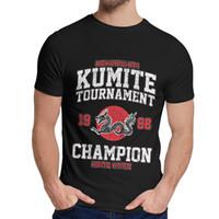 Wholesale champions shirts for sale - Group buy BLOODSPORT Kumite Tournament Champion T Shirt Fashion Crewneck Leisure Unisex Great Classic S XL T shirt