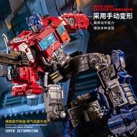 Wholesale optimus prime toys resale online - Transformation Siege Series SS SS Optimus Primes KO Diecast alloy action figure robot toy children gift