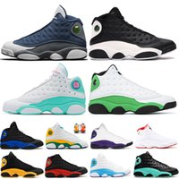 Basketball Shoes for Mens Womens 13 13s Reflective Hyper-Royal Aurora Green Flint lucky green he got game Men shoes Sneakers Trainers 5.5-13