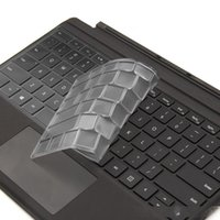 Wholesale surface pro 7 skin resale online - Clear TPU Keyboard Cover Skin Protector Compatible For Surface Pro X Keyboard Case for Surface Go