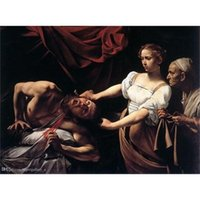 Wholesale giclee printing resale online - Pt Judith Beheading Holofernes by Caravaggio Giclee Fine Art HD Print Home Decor Oil Painting On Canvas Wall Art Canvas