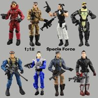 zoll-action-figur groihandel-Lanard Elite Force 1.18 Military Action Figure Puppe Statue 3,75 Inch