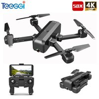 SG706 RC Drone with 50 Times Zoom WiFi FPV RC Quadcopter 4K 1080P Dual Camera Optical Flow Foldable Professional Drone VS Xs816