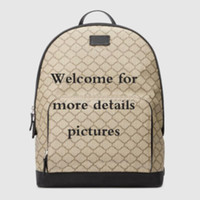 High quality backpack classic hot sale leather travel bag fashion business bag notebook bag 406370 size: 31.5*41*14.5cm
