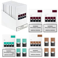 Disposable Vape Pods Vape Pen Empty Cartridges For Ecig Kit Compatible VS Puff Bar Pods Empty Eon Pod Cartridge Posh Pods Puff Plus 7 Colors