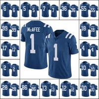 Wholesale pats jerseys for sale - Group buy Indianapolis Colts Men Pat McAfee Andrew Luck T Y Hilton Women Youth NFL Custom Royal Color Rush Limited Jersey