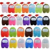 DHL FREE Among Us Plush Toys 10cm New Game Doll Among us Plush Toy 13 Colors Plush Cute Dolls Stuffed Toys BY1639