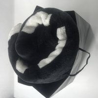 Wholesale black white blankets for sale - Group buy Popular Black and White Coral pile Blanket Manta Fleece Throws Sofa Bed Plane Travel Plaids Towel Blanket cm and cm luxury VIP gift