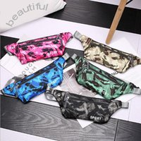 Wholesale designer bag packs for sale - Group buy Camouflage Travel Sports Fannypack Outdoor Stretch Sports Pack Men Women Convenient Breathbable Waist Pack Waterproof Phone Belt Bag FWF3269