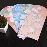Wholesale free wedding card style for sale - Group buy 50pcs Japanese Style And Painted Envelopes For Card Wedding Invitation Photo Storage Christmas Gift mm wmtJVX
