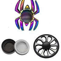 Wholesale figit spinners resale online - Wheel Fidget Car Edc Metal Hand Finger Spinner Colorful Reduce Stress Toys Figit Spiner Gifts Can Turn to Minutes U8XG