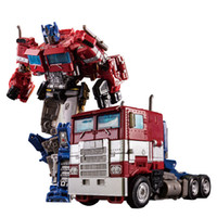 Wholesale movie robot resale online - Transformation OP Commander alloy metal movie series SS38 Action Figure robot Boy toys Children Gifts Car Model Super Hero cm