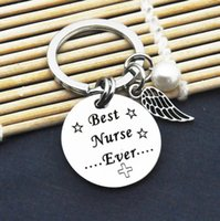 Wholesale keychains for kids resale online - Nurse Graduation Gift for Nurse Keychain for Men Women Kids Mom Best Nurse Ever Nurse Graduation Gifts Nurses Week Presents